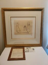 John Lennon Original Lithograph Signed By Yoko - And039i Doand039 - Bag One Artist Proof