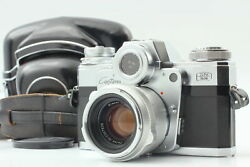 [appearance Mint In Case] Zeiss Ikon Contarex Type 1 + Planar 50mm F2 From Japan