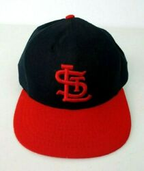 St Louis Cardinals Vintage Cap Hat Roman Pro Fitted 7 1/4 Wool 1960 Style