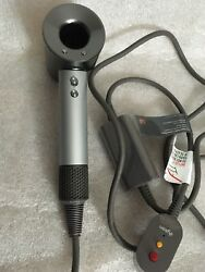 Dyson Supersonic Hair Dryer Silver/grey- Hd02 Professional Edition