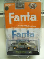 M2 Chase Fanta 1969 Plymouth Road Runner Only 250 Made