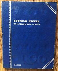 Us Buffalo Nickel 5 Ct 1913-1938 Partial Collection Set Of 12 Coins In Folder
