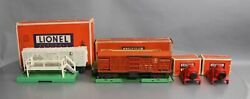 Vintage Lionel Postwar 3472, 3656 And 260 Operating Cars, Accessories And Bumper [5]