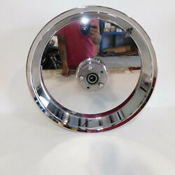 Harley Dyna Chrome Smoothie Rear Wheel 18x5.5 For 200mm Tire 07+ Later