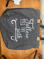 Vintage large canvas tote bags for women $20.00