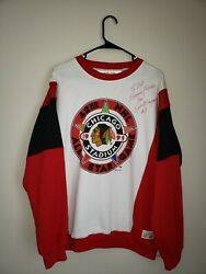 Chicago Blackhawks 1991 Nhl 42nd All Star Game Keith Magnuson Autograph Sweater