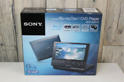 Sony Bdp-sx910 Portable Dvd Player With Screen 9