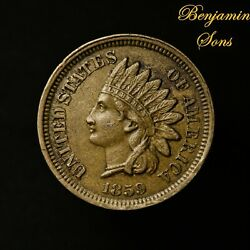 1859 Indian Head Cent 1c Penny 061921 *24 Free Shipping