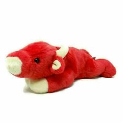 Ty Snort Bull Red Cow Retired Beanie Buddy Stuffed Animal Plush Toy 14quot;