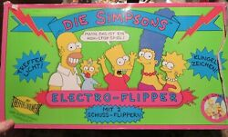 The Simpsons 1991 Foreign Issue Pinball Martin Fuchs Spielwaren W.germany In O/b