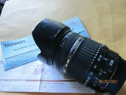 Tamron Af 28-300 Canon Md In Japan Camera Lens W Directions Aspherical