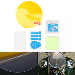 Cluster Scratch Protection Film / Screen Protector Fits For Touring Dyna A3