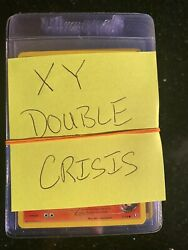 Pokemon Mint Xy Double Crisis Complete Set And Foil Set All Cards