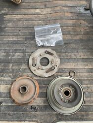 Honda H4514h H4518 4514 Lawn Tractor Mower Pto Clutch Set Kit Cone And Pulley Used