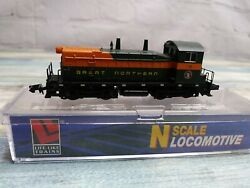 N Scale Life-like 7511 Gn Great Northern Sw9/1200 16. Excellent - Used