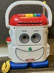 Toy Story 2 Mr. Mike Playskool Disney Pixer Size 1/1 Tape Recorder Used
