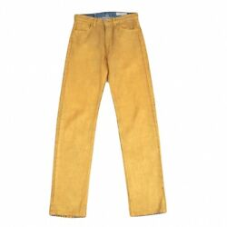 N� 11 0044 Gold Painting Jeans Size W76k-83789
