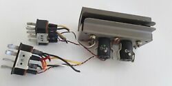 Ampex 601 2-track Stereo Head Assembly With Connectors