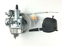 Carburetor Andthrottle Lever Control And Cable For Honda Recon Trx250te/tm 2002-2009
