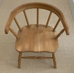 Stunning Vintage Windsor Style Wooden Child/ Doll Chair