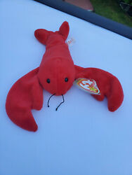 Mint-rare - Ty Beanie Baby Pinchers 1993 - Mint Condition
