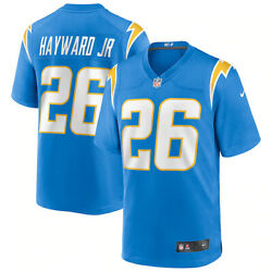 New 2021 Nfl Casey Hayward Jr. Los Angeles Chargers Nike Game Player Jersey Nwt