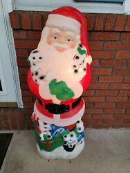 Rare Vintage Outdoor Christmas Decoration With Dalmation Puppies
