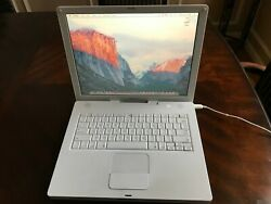 Apple Ibook G4 14 Inch 1.33 Ghz 512 Mb Memory Leopard 10.5.8
