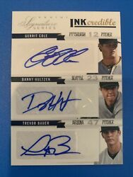 2012 Panini Inkcredible 6 Player Auto Bauer Cole Rendon /25 Hot 1 Of 1 Ebay