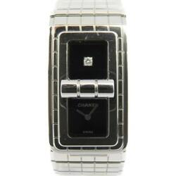 Cc Code Coco Watch Stainless Steel Black Silver 0290