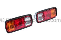Rear Light Taillight Set For Mercedes G Class W460 / Early W461 79-92 Original