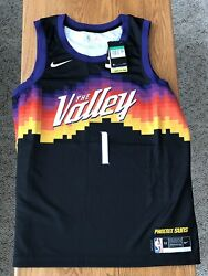 Devin Booker Nike Swingman City Edition Jersey Size Xl 52 Nwt Direct From Nike