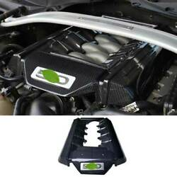 5.0t Carbon Fiber Bonnet Hood Radiating Protection Cover For Ford Mustang 15-17