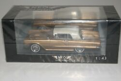Neo Models 1960 Ford Thunderbird 2 Door Hardtop Boxed 1/43 Scale