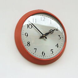 Vintage Synchronome Wall Clock 1960s Midcentury Industrial Factory Office