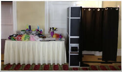 Photo Booth, Canon Camera, Hp Laptop And Printer
