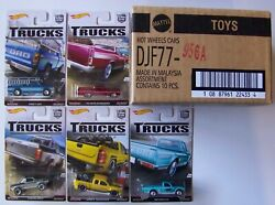 2016 Hot Wheels Car Culture Trucks Complete Set Of 5 Straight From Factory Box I