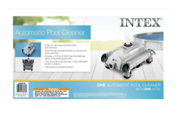 Intex Swimming Pool Automatic Vacuum Cleaner W/ 1.5 Fitting 28001e In Hand