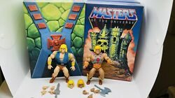 Sdcc 2019 Masters Of The Universe Origins He-man And Adam 100 Complete