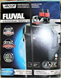 Fluval Sea 407 100-gal Performance Canister Filter - Black - A449