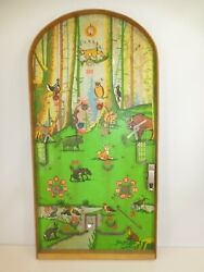 Vintage 60s Russian Ussr Pinball Game Tabletop 24 X 12