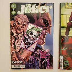 The Joker 2 2021 Cover A And C Set Of 2 1st Vengeance Bane's Daughter Nm Dc 2021