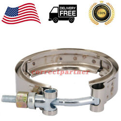For Dodge Ram Fit For 5.9 Cummins 1989-02 V-band Clamp Exhaust Tube Turbo Outlet