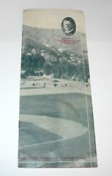1922 Baseball Chicago Cubs Spring Training Player Roster Program Schedule Guide