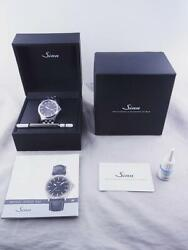 Sinn Men's Watch 556.im Automatic Brown Round Dial Stainless Steel Belt Boxed