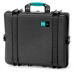 Hprc 2700cub Resin Hard Case With Cubed Foam Black With Blue Handle