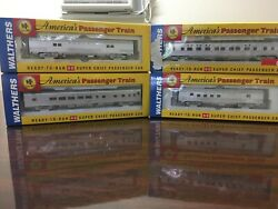 Ho Scale Super Chief Train Set - Walthers 8 Cars New Never Run