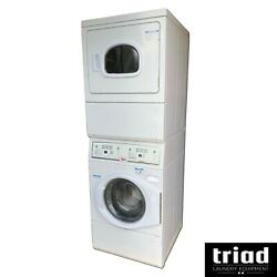 And03918 Unimac Washer Gas Dryer Combo Stack Opl Laundry Speed Queen Huebsch Salon