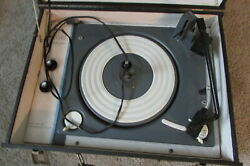 Silvertone Sears Model 7260 Vintage Stereo Record Player