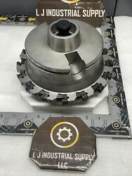 Seco 122566 / R-l335.18 Holder And Slot-cutter S122572-523 W/ New Inserts_read